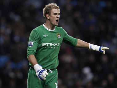 Joe Hart was often the difference between the two teams. Reuters