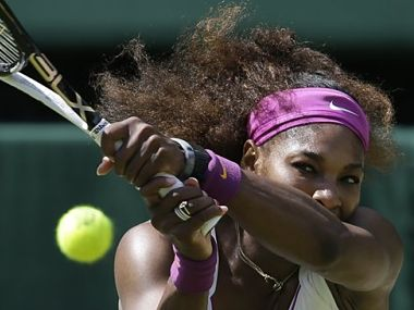 Serena is the favourite. AP