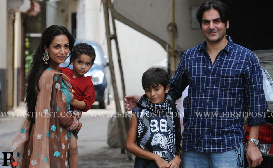 images salman tiger khan and family celebrate eid