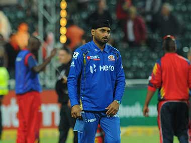File picture of Harbhajan Singh. AFP