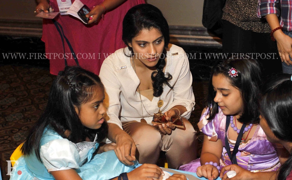 Actress Kajol with her daughter Nysa at the Disney Princess Academy event in Mumbai. Sachin Gokhale/Firstpost