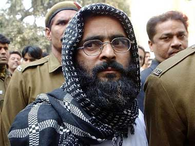 Afzal Guru has been executed. AFP