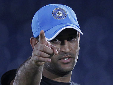 India's cricket captain Mahendra Singh Dhoni needs to make his point. Reuters