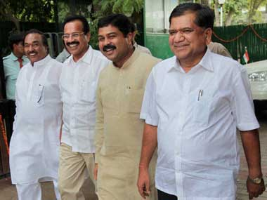 Time to smile: Shettar government may just survive. PTI