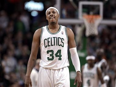 Paul Pierce. AP