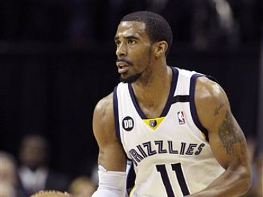 Mike Conley had 19 points and 6 assists for the Memphis Grizzlies. AP