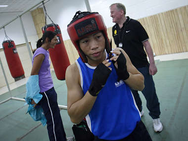 File picture of India's boxer MC Mary Kom. Reuters