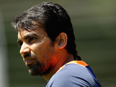 Zaheer Khan has still not recovered from injury. Getty