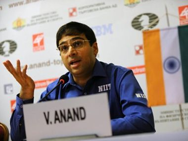 Anand was in fine form. AFP