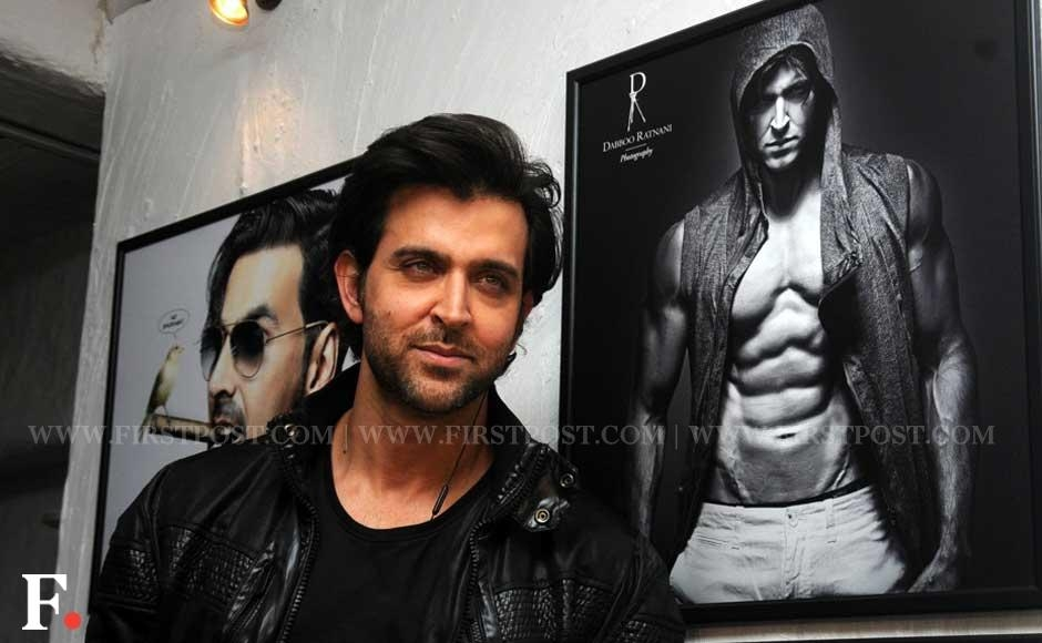 Hrithik Roshan at photographer Dabboo Ratnani's annual calendar launch. Sachin Gokhale/Firstpost