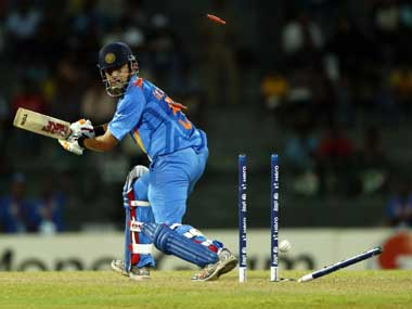 Gambhir has struggled for form in recent times. AP