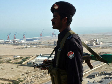 China operating the Gwadar port will be of threat to India. AFP
