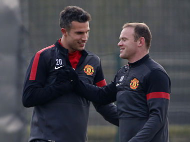 Van Persie and Rooney will be big for United. Reuters