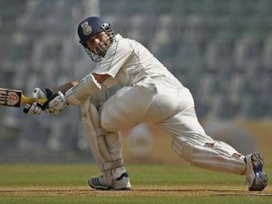 Sachin Tendulkar made his 81st first-class hundred against Rest of India. PTI