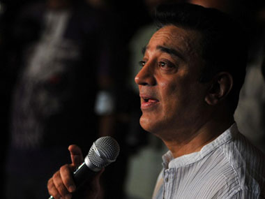 Kamal Hassan has faced a lot of problems with his film Vishwaroopam. AFP.
