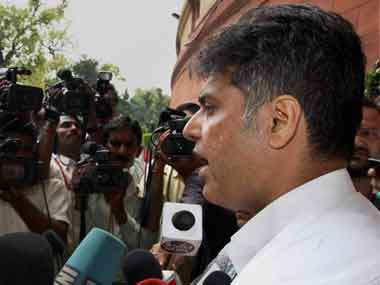 Union Minister Manish Tewari. Image courtesy PIB