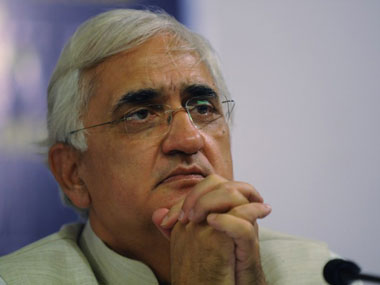 Salman Khurshid said that that India should not overreact on the VVIP chopper deal. AFP
