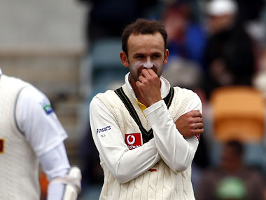 File picture of Nathan Lyon. Reuters