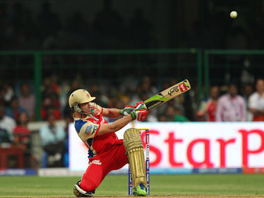 AB De Villiers has plenty of shots in his bag. BCCI