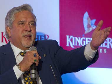 Kingfisher chief Vijay Mallya. Reuters