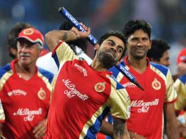 Virat Kohli is the captain of Royal Challengers Bangalore. CLT20