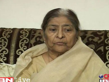 Zakia Jaffri is the widow of slain Congress MP Ehsan Jaffri. IBNLive.