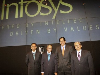 Beginning of the end for Infosys? AFP