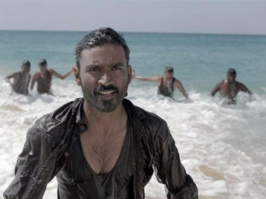 Dhanush in Maryan. Image courtesy: Firstpost.