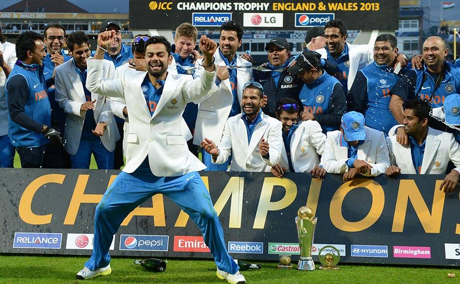 Indian cricket team 2013 champions trophy