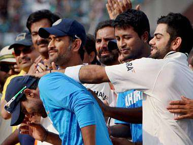 MS Dhoni tends to stay calm, no matter what is going on around him. PTI