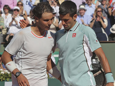 Rafael Nadal and Novak Djokovic are elevating tennis rivalries to new heights. AP