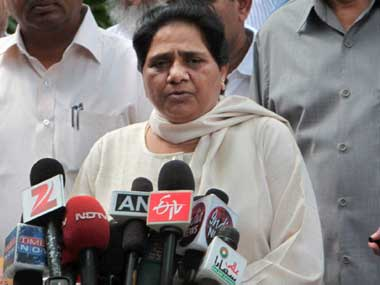 File photo of Mayawati. PTI