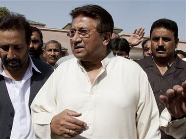 Pervez Musharraf. AP photo