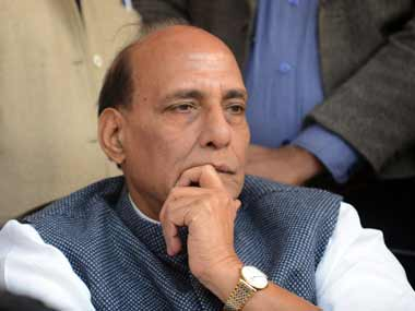 Rajnath Singh in this file photo. AFP