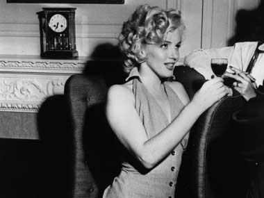 Hollywood siren Marilyn Monroe. Getty Images
