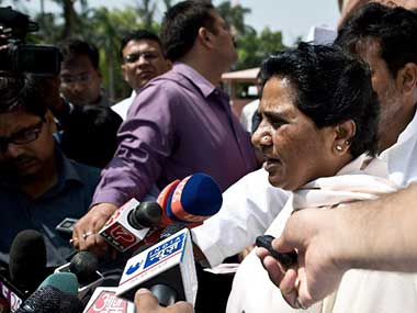 Mayawati in this file photo. AFP