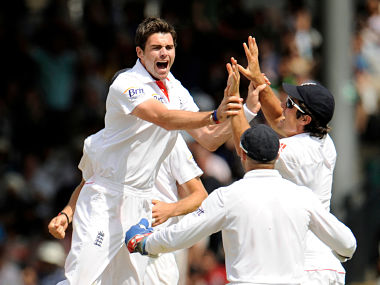 The English squad has five seamers: Reuters