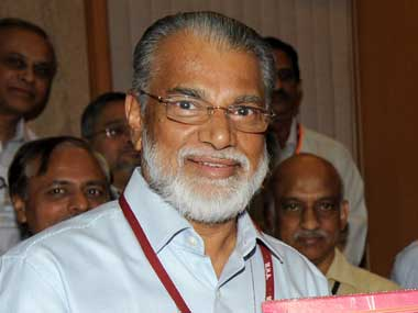 Isro chief K Radhakrishnan. Image courtesy PIB