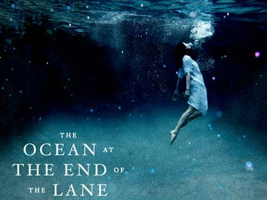 The cover of Ocean at the end of the lane: Image from Neil Gaiman's blog