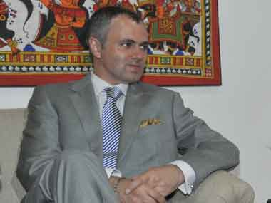 Jammu and Kashmir Chief Minister Omar Abdullah. Image courtesy PIB<br /><p class=