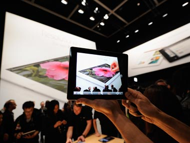 An Apple iPad is seen in this file photo. Getty Images.
