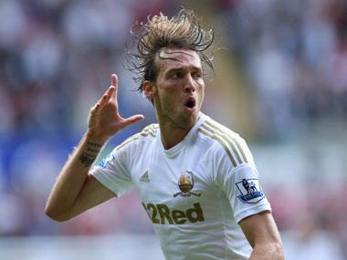 Michu will be key for Swansea. Getty Images