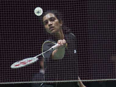 File picture of P V SIndhu. AFP