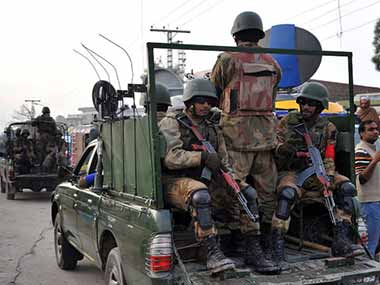 This image of the Pakistani Army has been used for representational purposes only. AFP.