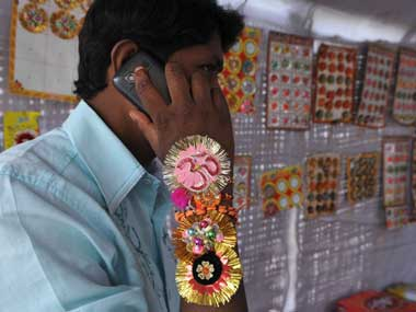 Can you afford to be seen without a rakhi? AFP