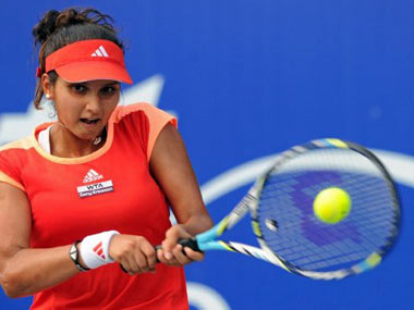 File photo of Sania Mirza. AFP