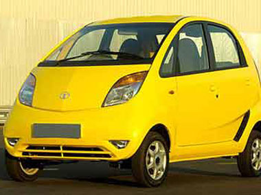 Representational image of Tata Nano. AFp