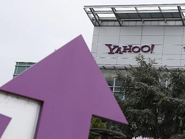 Yahoo logo is seen in this file photo. AFP