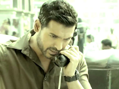 John Abraham in a still from Madras Cafe. AFP.