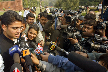 Corporate Affairs Minister Sachin Pilot. Reuters